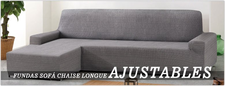 Fundas de sof y chaise longue fundas el sticas cubre sof s - Fundas chaise longue ...