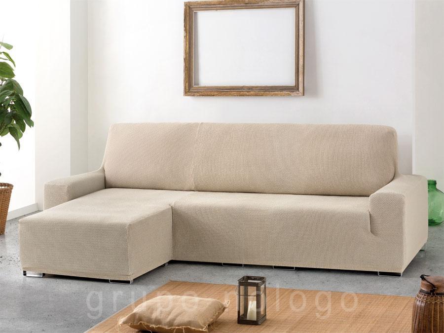 Funda chaise longue elastica cora brazo largo - Fundas para chaise longue elasticas ...