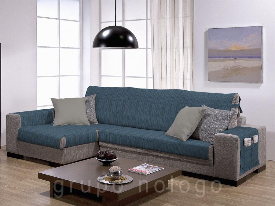 Fundas de sofa con cheslong funda de sof elstica modelo - Funda para cheslong ...