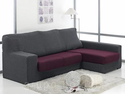 Funda sofa chaise longue ajustable Duplex Daniela