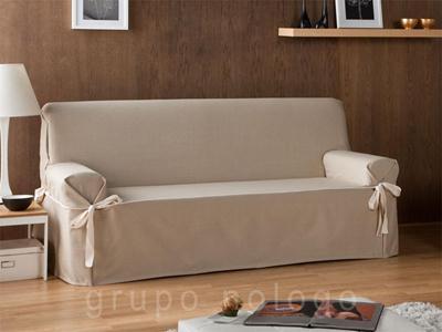 Funda sofá con lazos Beret