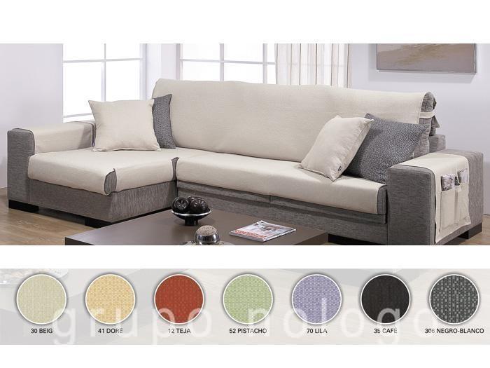 Fundas de sofa para chaise longue a medida - Fundas de sofas a medida ...