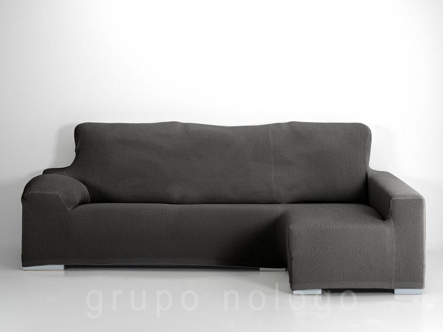 Funda sof chaise longue ajustable jara - Fundas sofas chaise longue ...