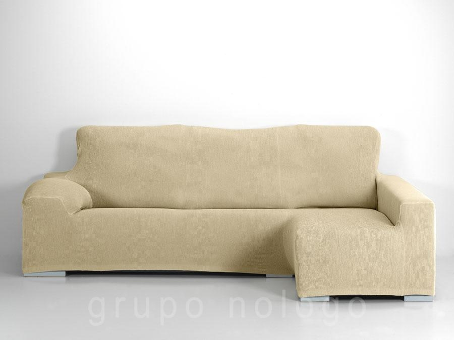 Funda sof chaise longue ajustable jara - Fundas de sofa gris ...