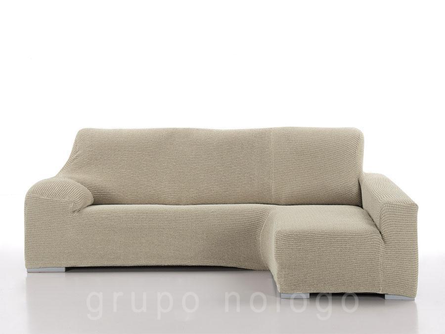 Funda sof chaise longue biel stica sada - Fundas sofas chaise longue ...