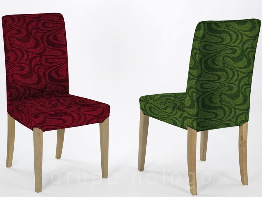 Fundas para sillas con respaldo danubio for Fundas de sillas ikea