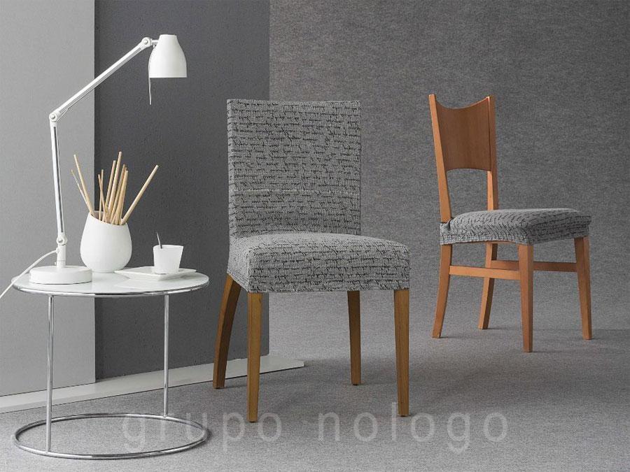 Fundas para sillas letras for Fundas de sillas ikea
