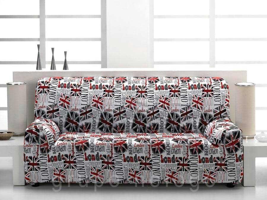 Fundas de sofa y chaise longue fundas elasticas cubre sofas - Fundas sofas ajustables ...