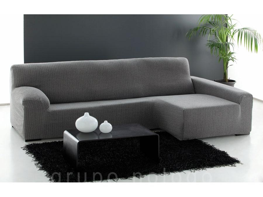 Funda sofá chaise longue ajustable Damasco