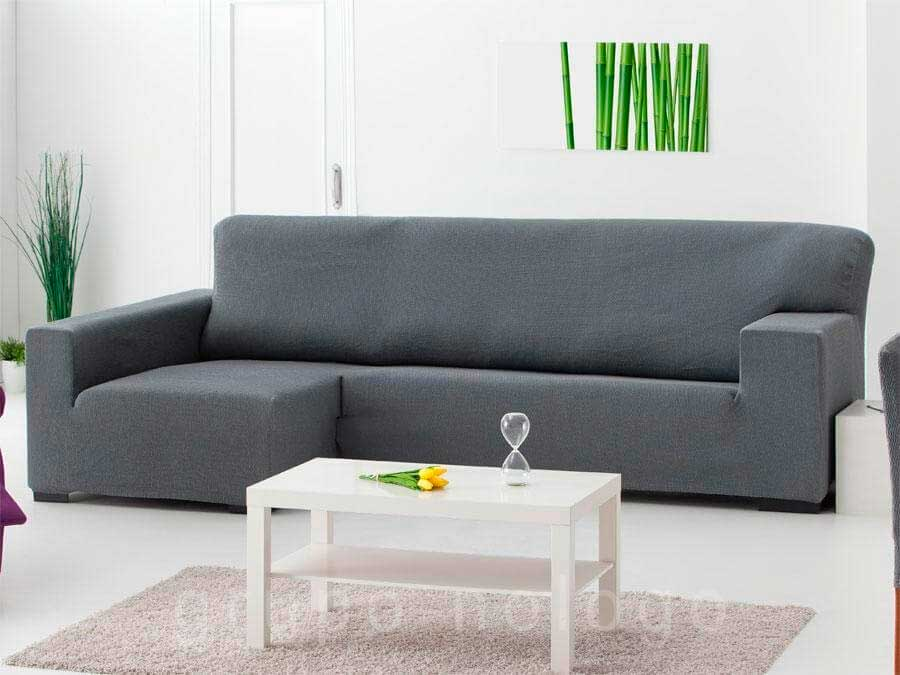 Fundas de sofa y chaise longue fundas elasticas cubre sofas - Funda de sofa chaise longue ...