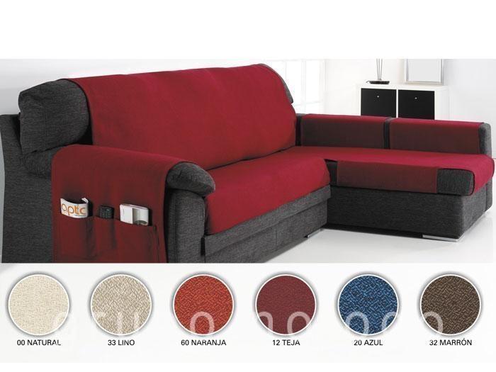 Fundas para sof chaise longue cubre sof s para chaise - Como hacer una funda para un sofa ...