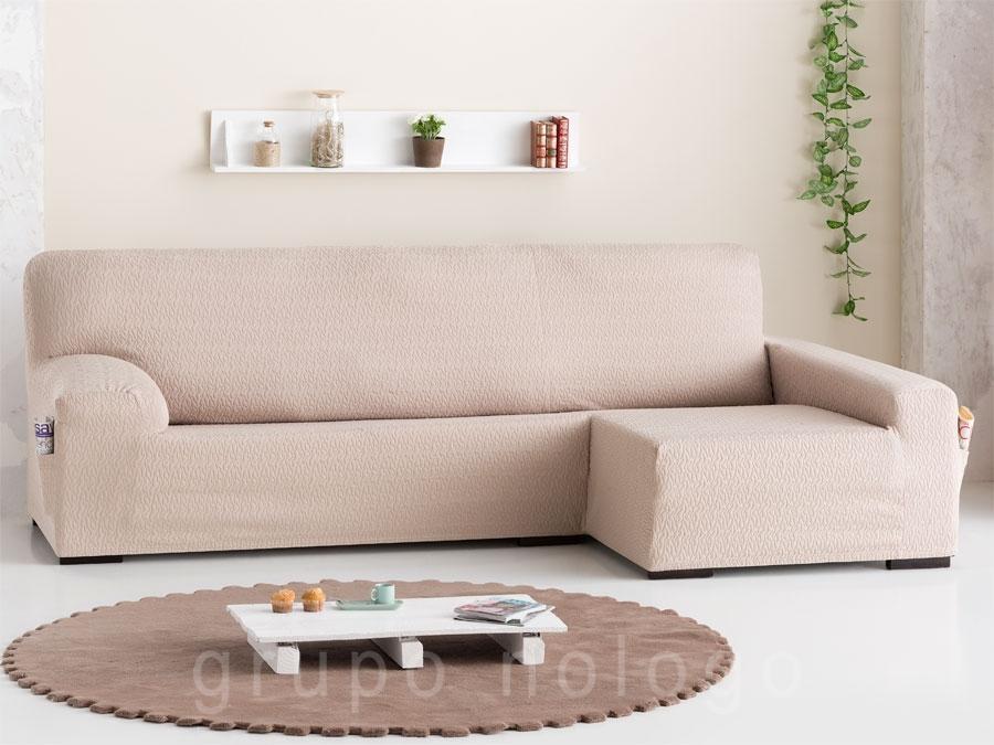 Fundas para sof chaise longue ajustables fundas sof online - Fundas para cheslong ...