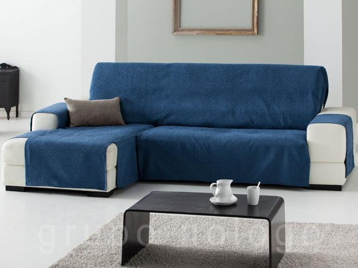 Funda de sofa chaise longue Vera