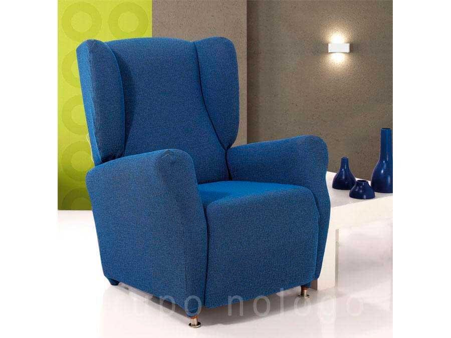 Fundas de sofa y chaise longue fundas elasticas cubre sofas - Comprar sillon orejero ...