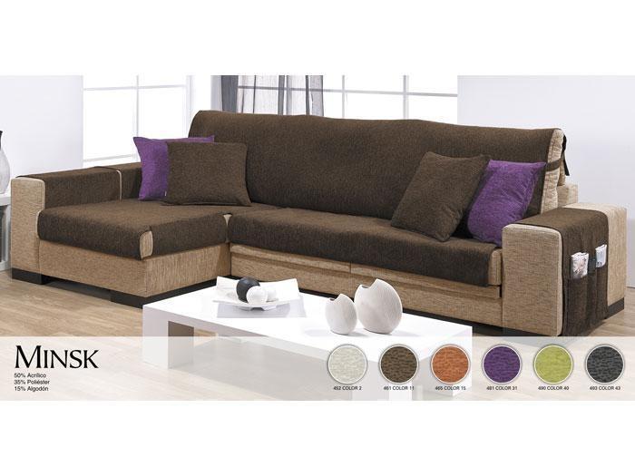 Fundas de sofa para chaise longue a medida - Fundas para chaise longue elasticas ...