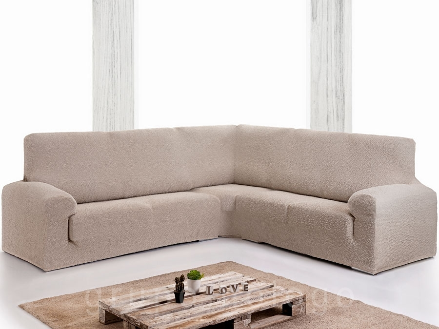 Funda sofá rinconera bielastica Roc Plus