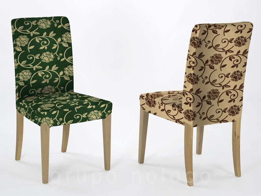 Fundas para sillas fundas de sillas fundas elasticas - Fundas ajustables para sillas ...