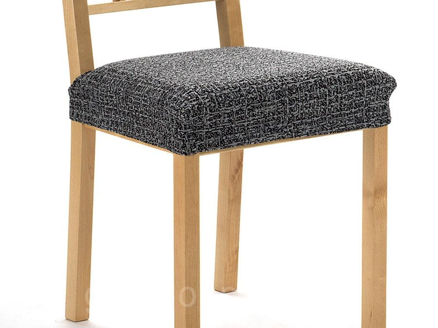 Funda chaise longue ajustable nature for Fundas para sillas comedor