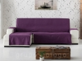 Funda sofa chaise longue Lona Liso